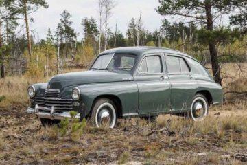 ГАЗ М-20 «Победа»: краткая история создания легенды отечественного автопрома